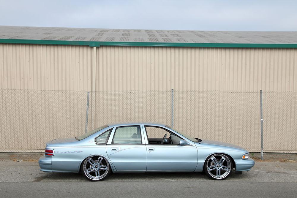 1996 Chevroelt Impala Custom Wheels 1