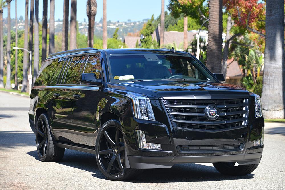 Cadillac Escalade Black Forgiato2 F220 1 10302014