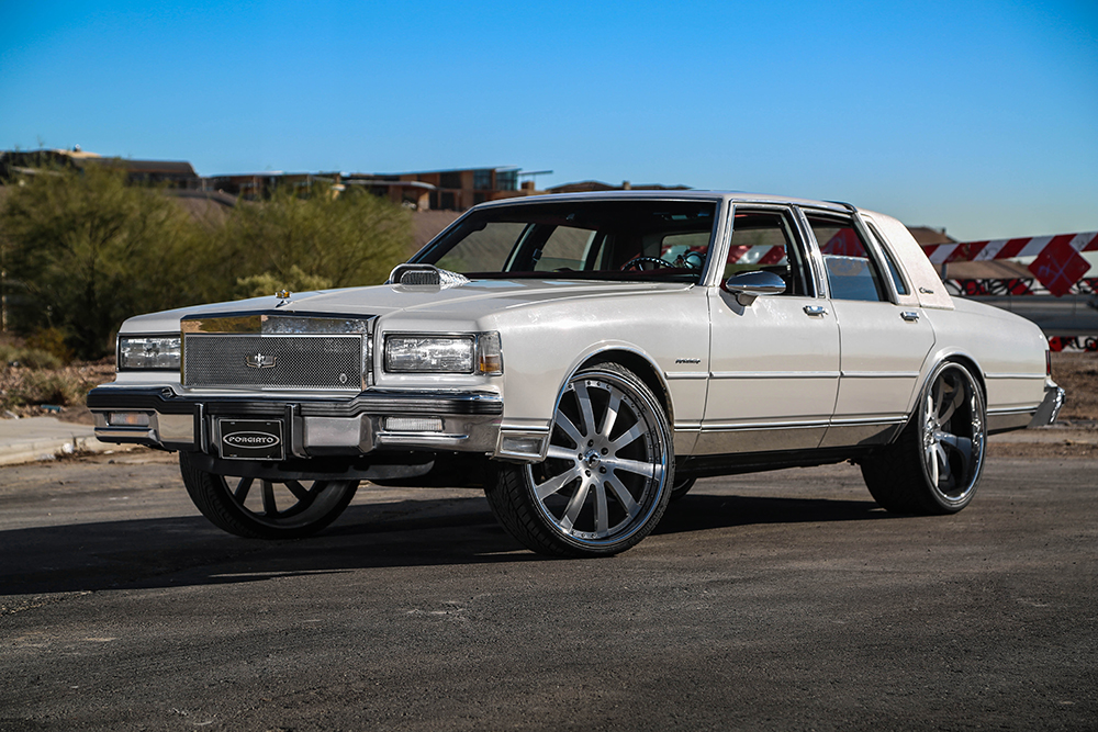 1989 box chevy on brushed 24 s. Black Bedroom Furniture Sets. Home Design Ideas