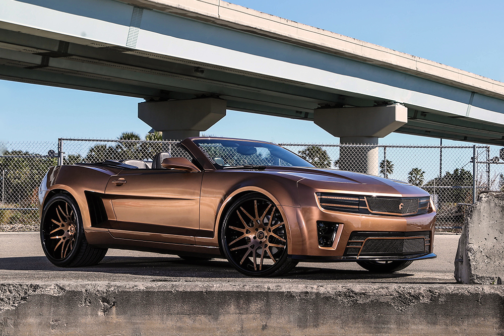 Brown Wide Body Zl1 Camaro