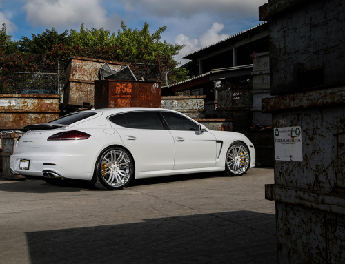 2015 Can Am >> White on White Porsche Panamera by Wheel Service   Forgiato