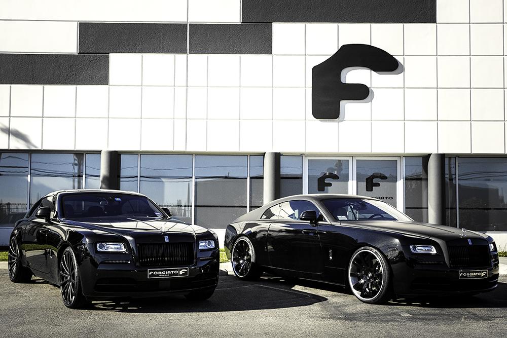 Rolls Royce Wraith Twins