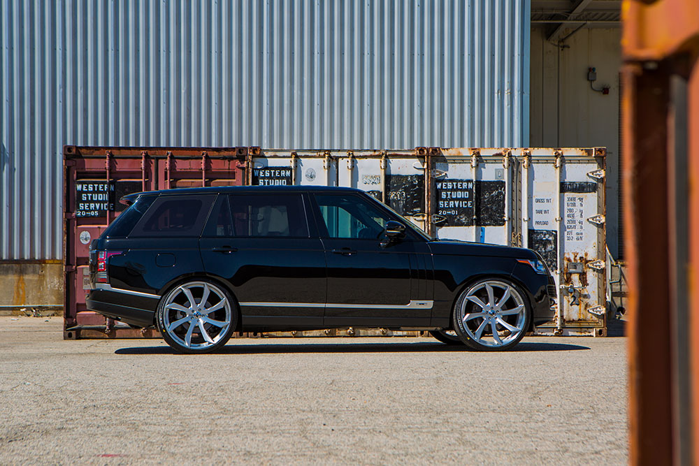 2015 Range Rover on Brushed Fondare-ECL
