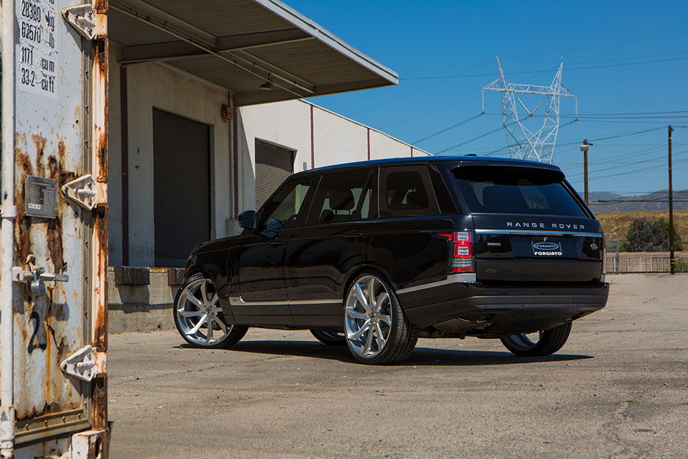 Forgiato Brushed Range Rover on 24 Inch Rims