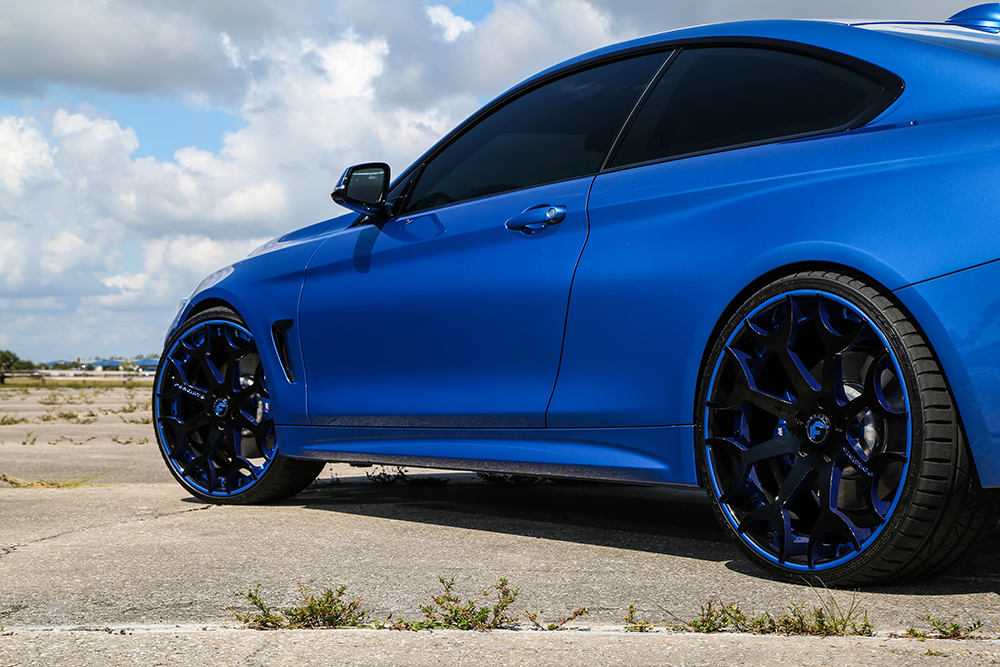 Blue Blooded – BMW 435i On 22 Capolavaro