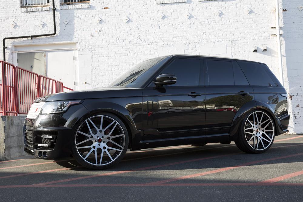 Black Kodiaq >> Widebody Range Rover by RDB