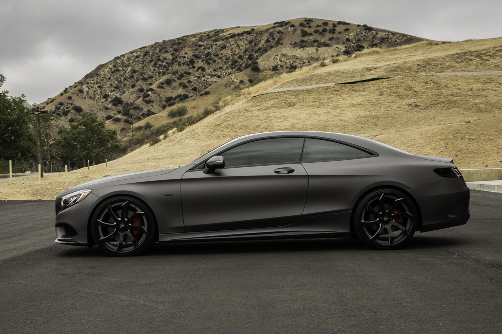 Mercedes C Coupe Side