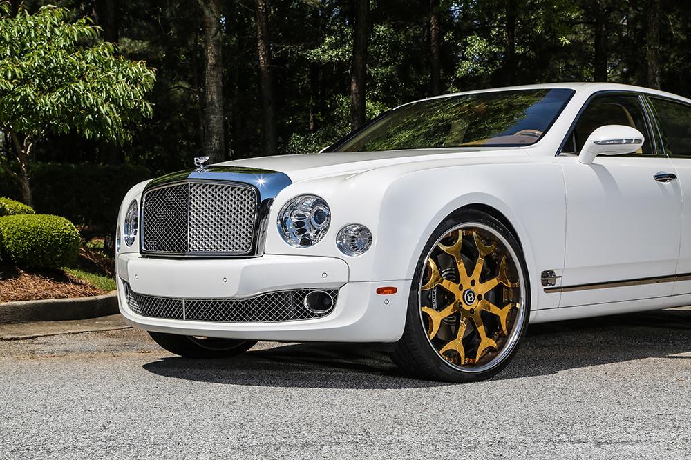 "All White Rolls Royce >> Limitless Luxury – 2015 Bentley Mulsanne On 24"" Capalavaro"