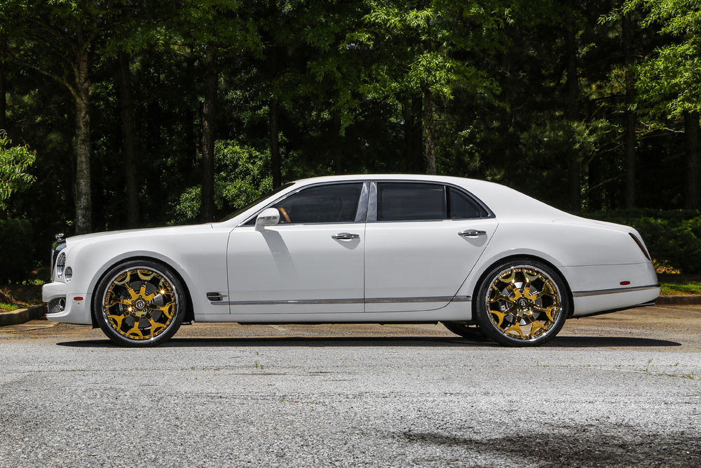 Limitless Luxury 2015 Bentley Mulsanne On 24 Capalavaro