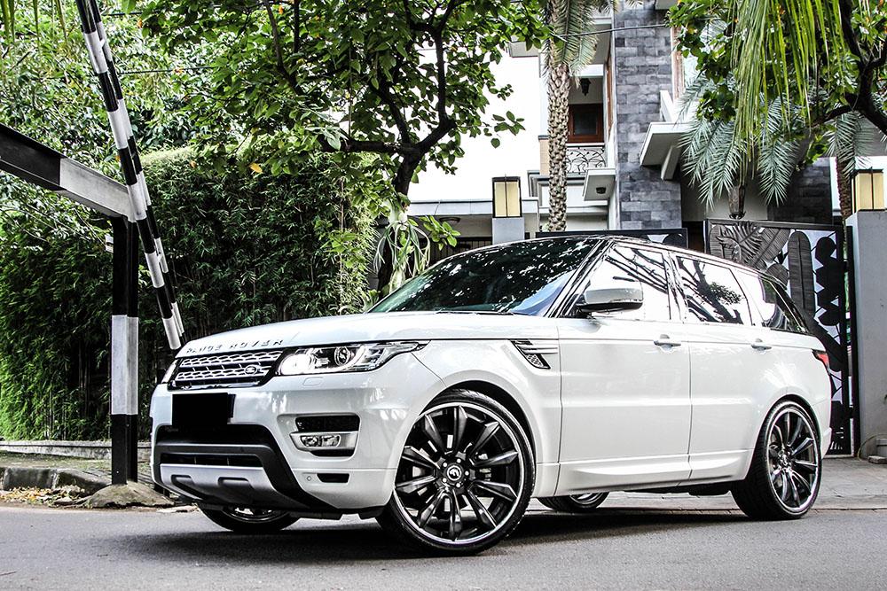 Range Rover Sport Forgiato White 1