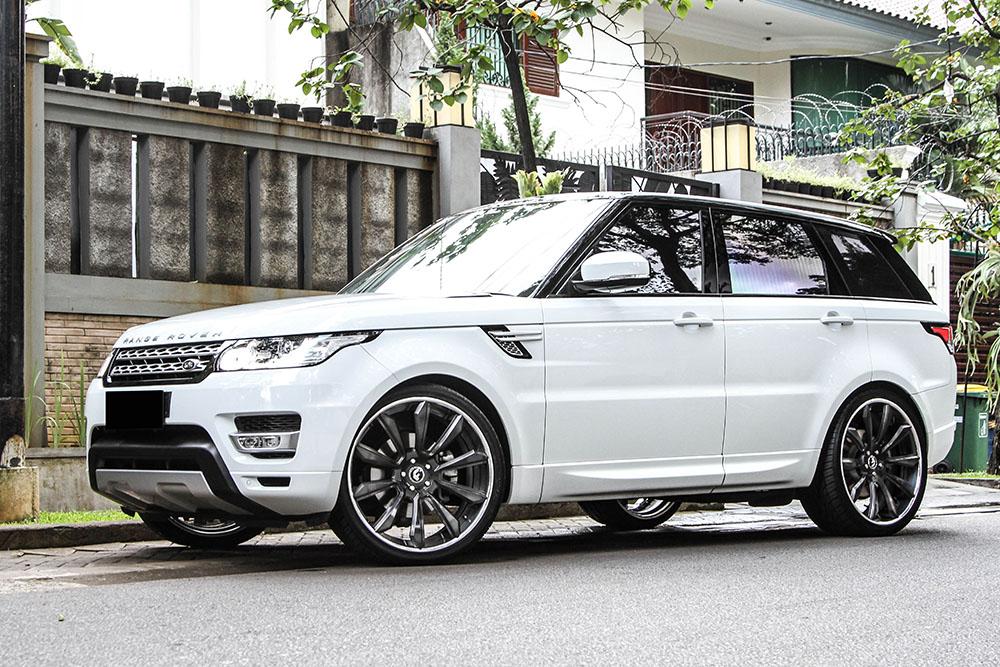 range rover sport forgiato white 3. Black Bedroom Furniture Sets. Home Design Ideas