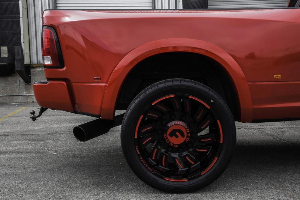 Seeing Red – RAM 3500 Dually On Turbinata