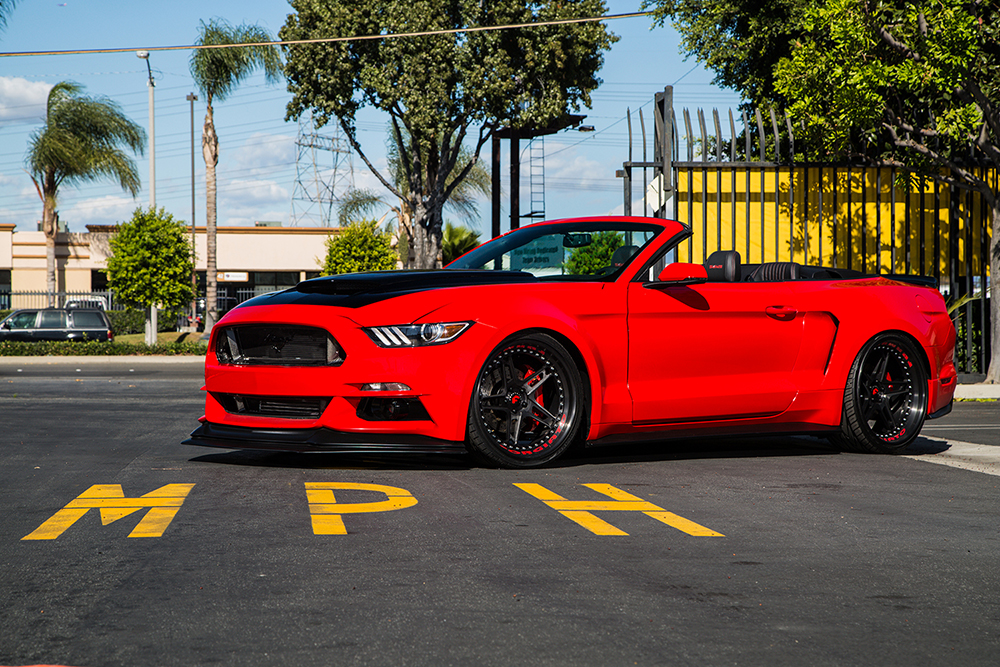 Wide Bodied And Out For Blood - 2015 Ford Mustang