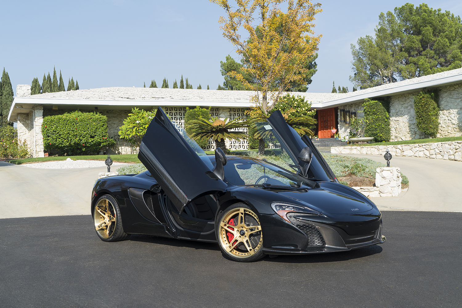 How Many Mclaren P1 Were Made >> Gold & Bold