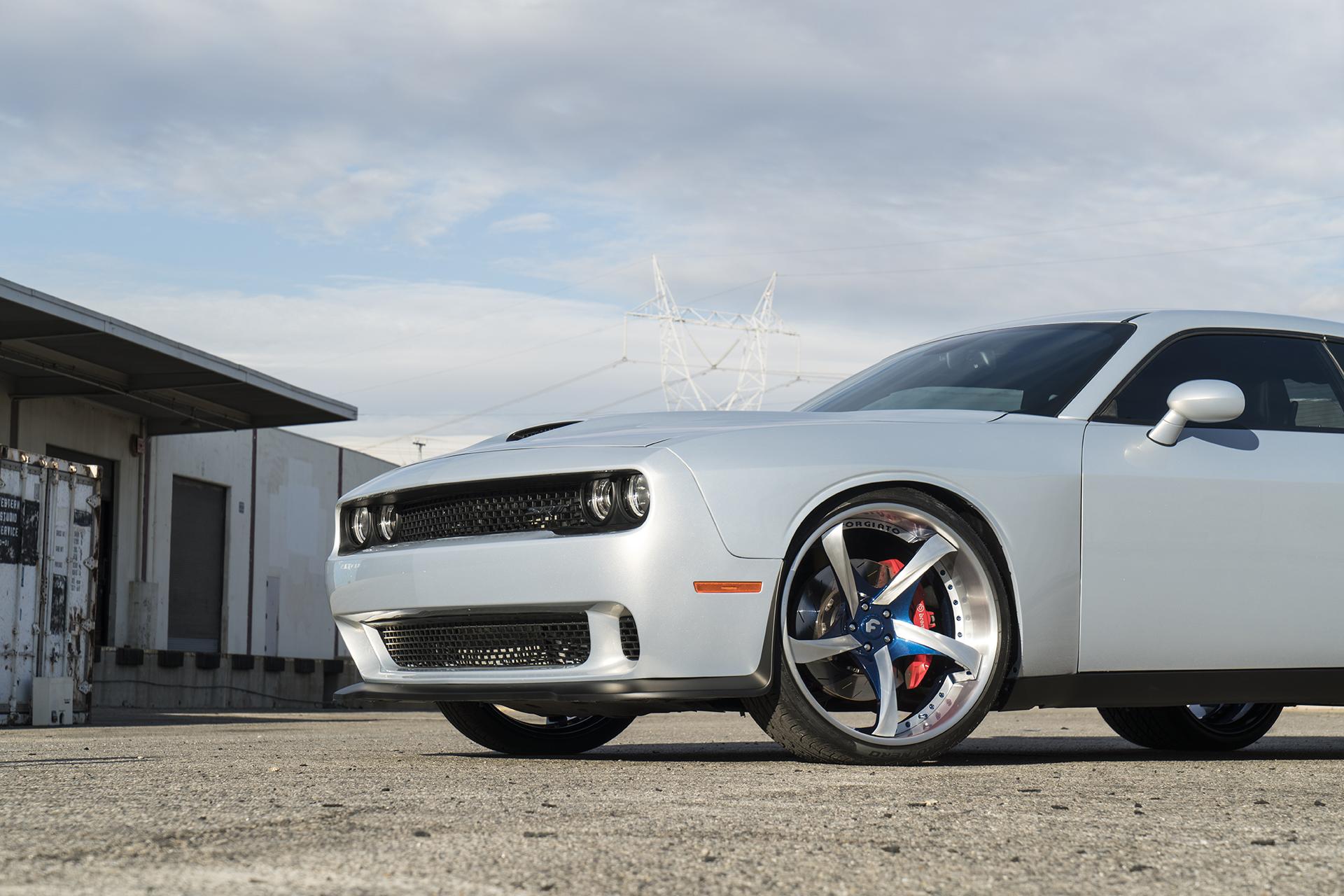 Dodge Challenger Conversion >> Widebody Hellcat on Forgiato Wheels