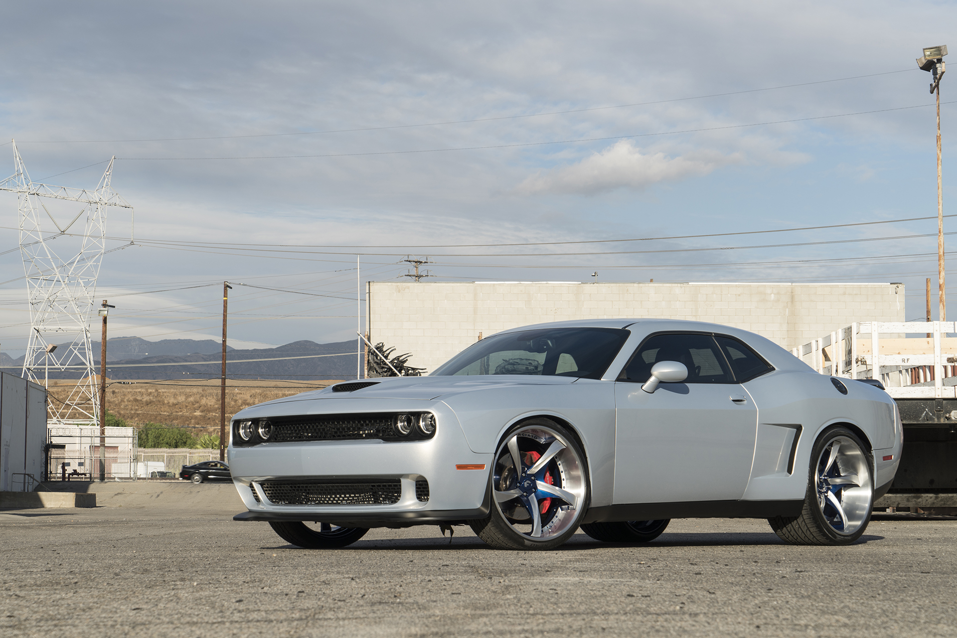 Dodge Challenger Conversion >> Widebody Hellcat on Forgiato Wheels