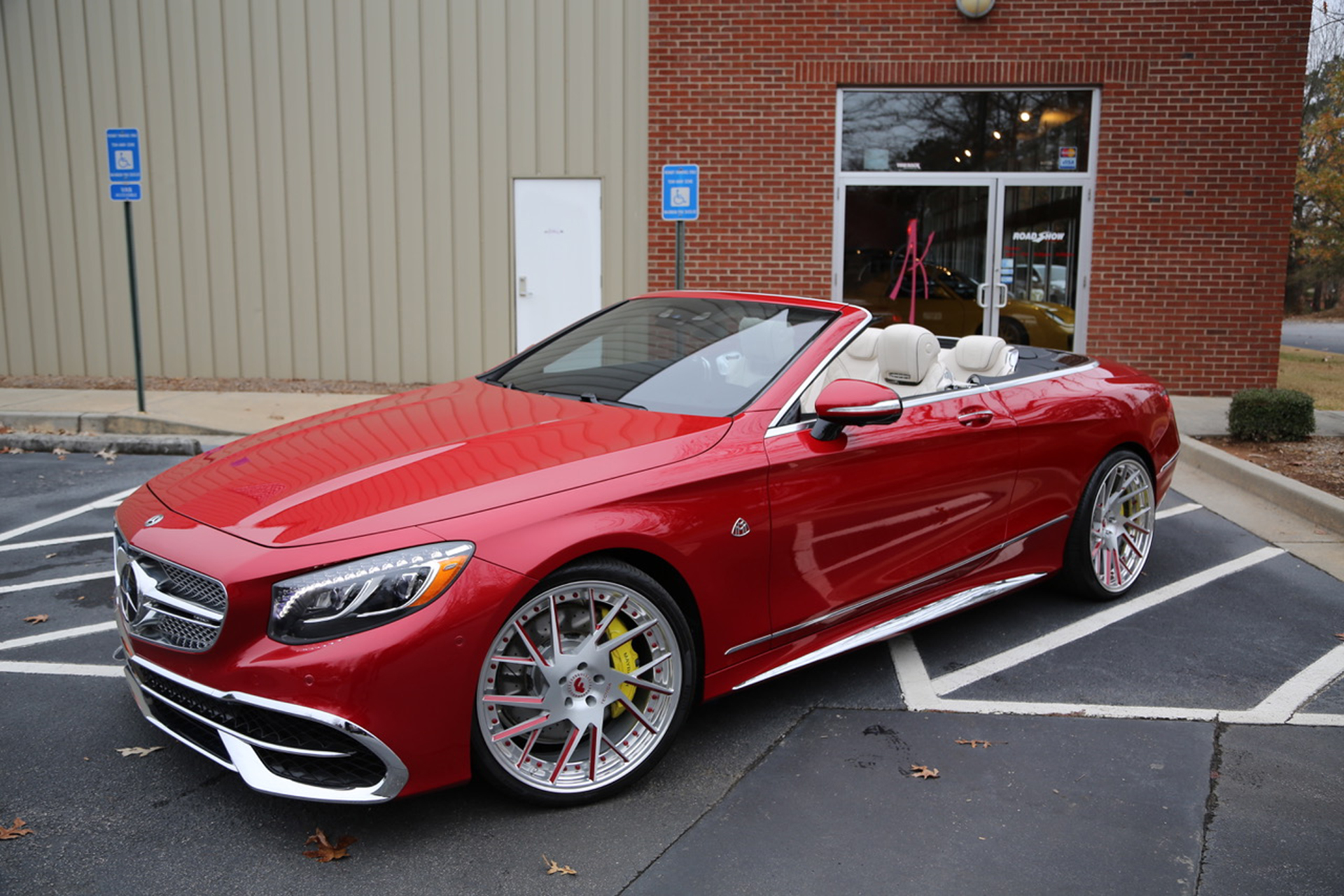 The first maybach s650 cabriolet on forgiatos in the world for Mercedes benz s650