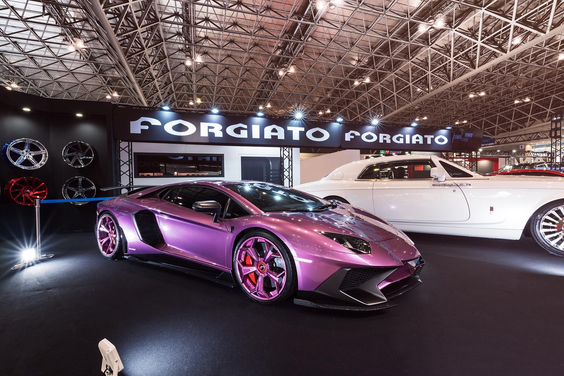 forgiato takes over the 2018 tokyo auto salon. Black Bedroom Furniture Sets. Home Design Ideas