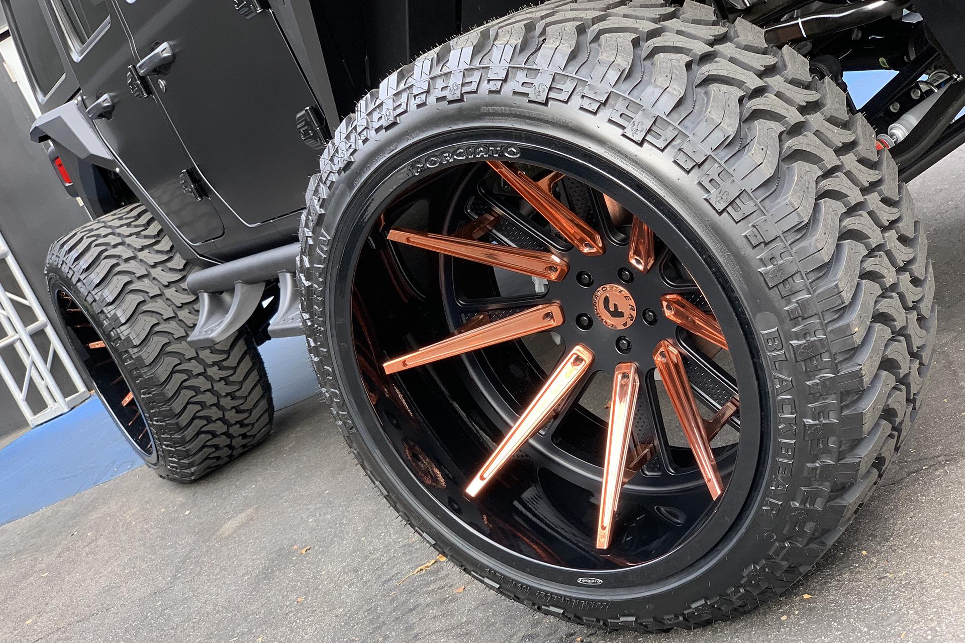 Alex Rodriguez's Custom Jeep Wrangler by West Coast Customs