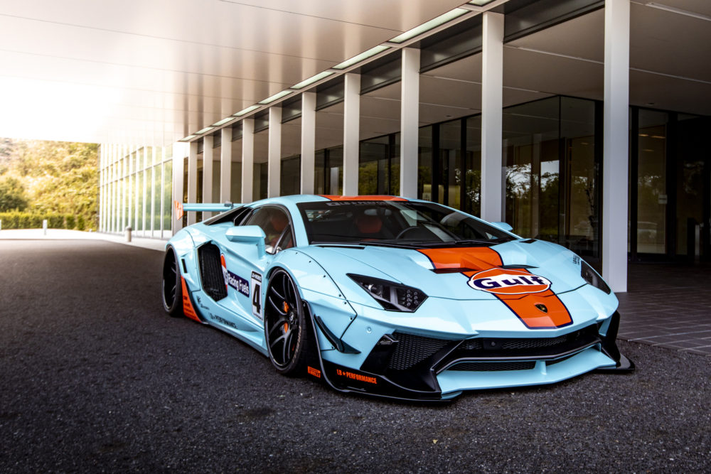 Lambo with a Luring Livery
