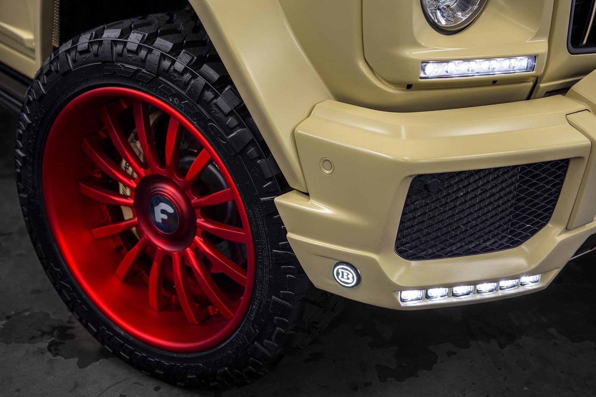 Widebody Brabus 2019 Mercedes-Benz G550 on Forgiato Wheels