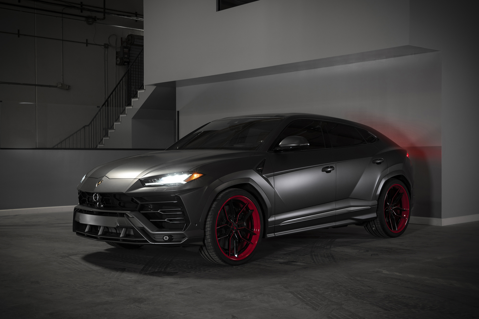 2019 Lamborghini Urus On 24 Inch Forgiato Wheels