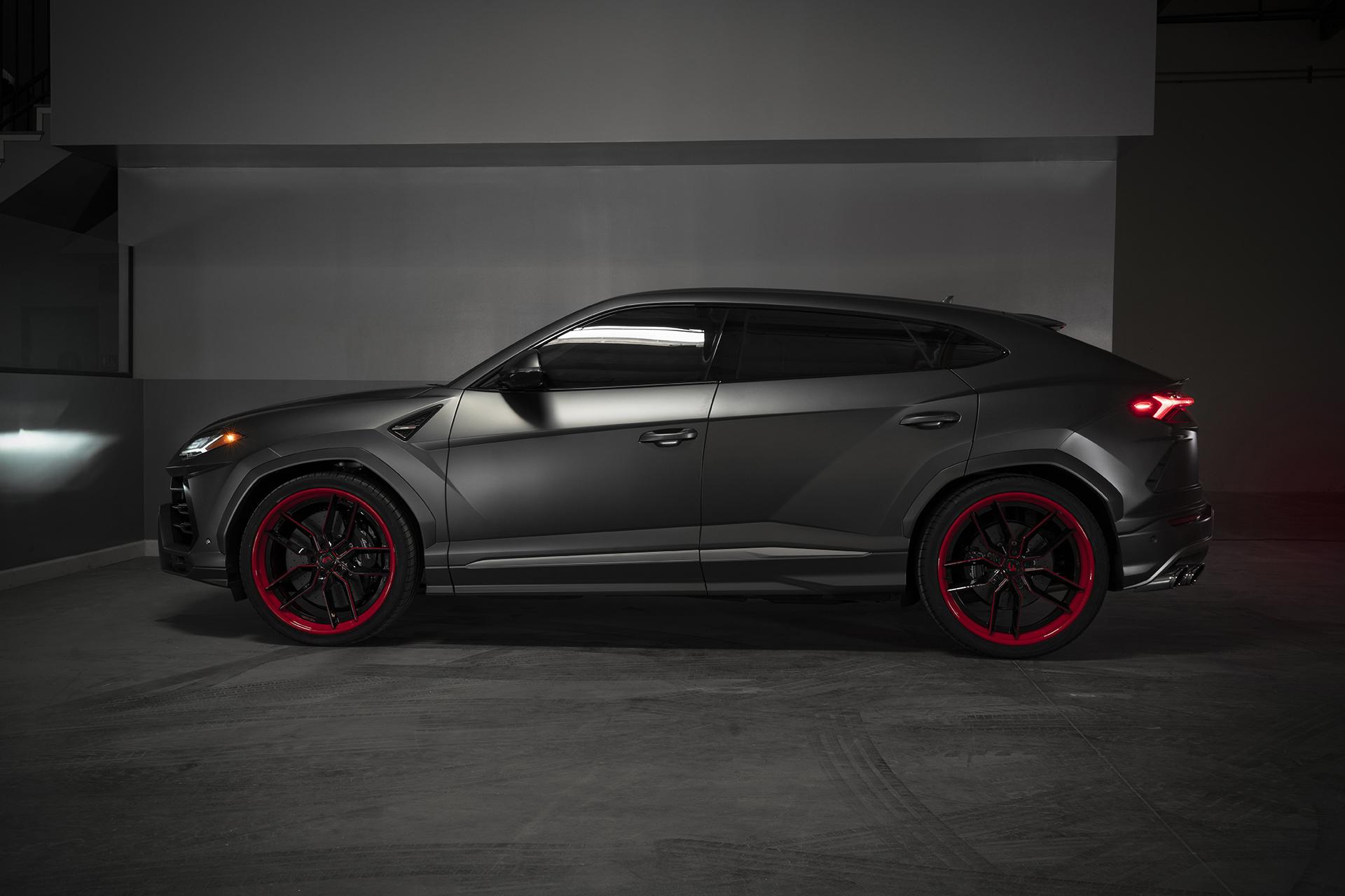 2019 Lamborghini Urus On 24 Inch Forgiato Wheels