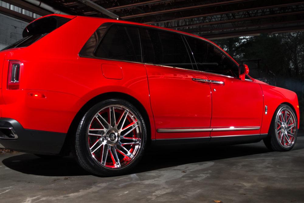 Keyshia Ka'oir's 2019 Rolls Royce Cullinan on Forgiato Wheels