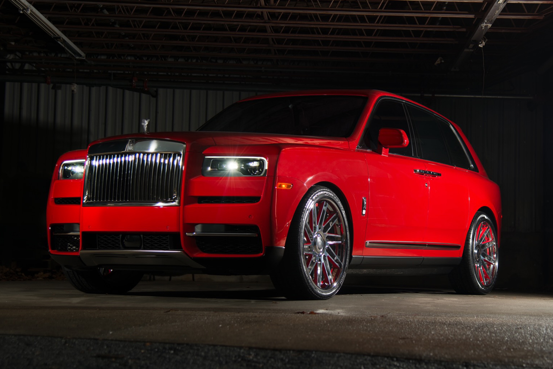 Keyshia Ka Oir S 2019 Rolls Royce Cullinan On Forgiato Wheels