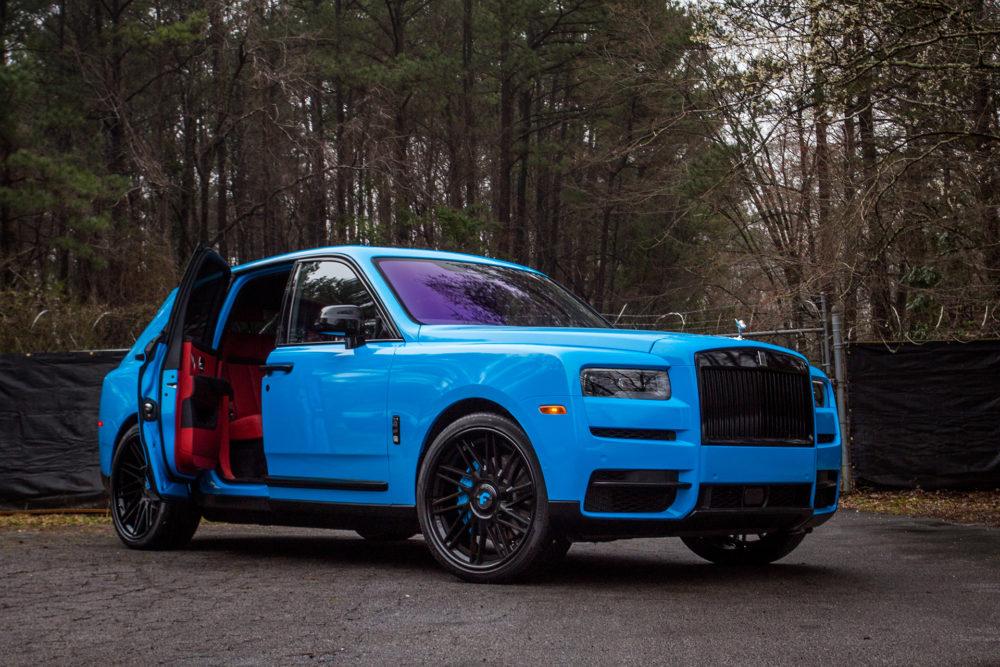 Offset's Rolls Royce Cullinan on Forgiato Wheels