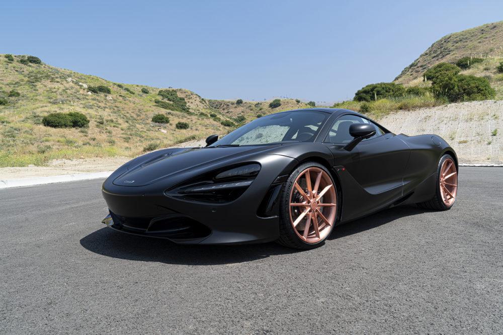 McLaren 720S on Rose Gold Forgiatos