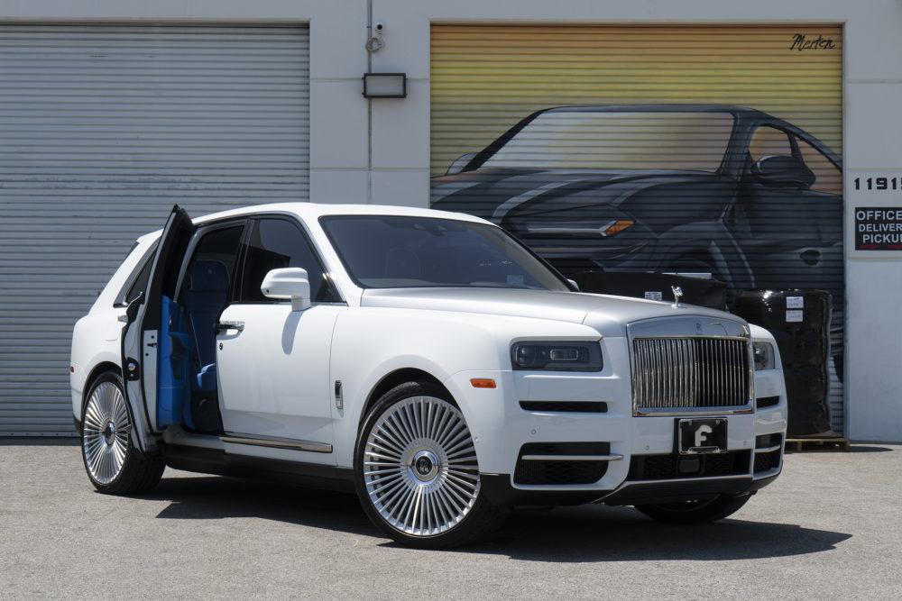 Rolls Royce Cullinan on Forgiato Monoleggera Wheels
