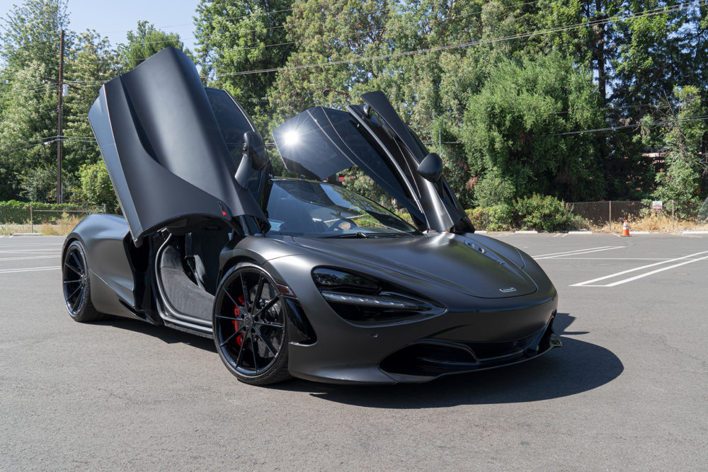 Murdered-Out McLaren