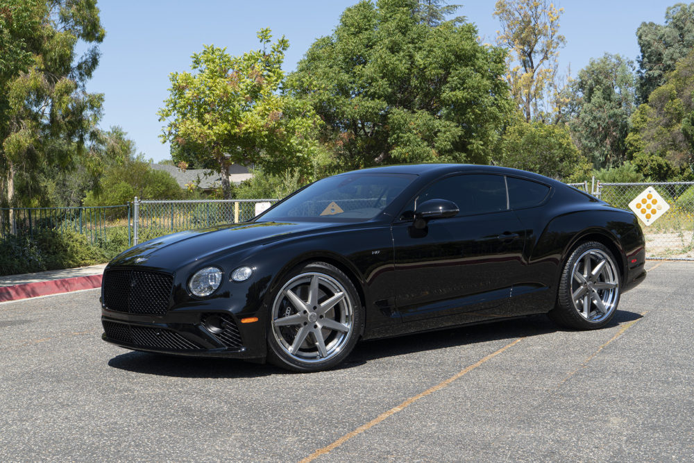 2020 Bentley Continental GT on Forgiato Wheels